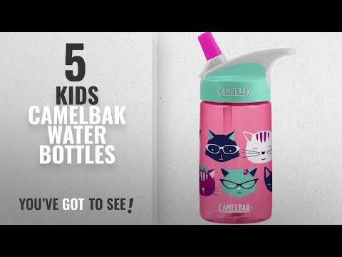 Best Kids Camelbak Water Bottles [2018]: CamelBak Eddy Kids Water Bottle, Meow, 0.4 L