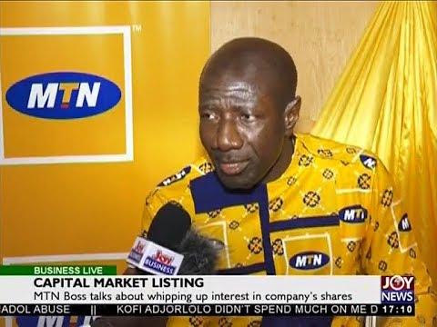 Capital Market Listing - Business Live on JoyNews (29-5-18)