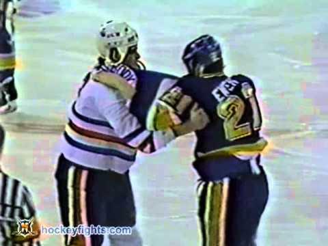 Todd Ewen vs Jeff Beukeboom