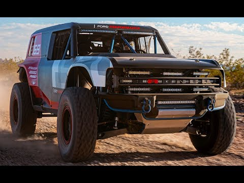 Ford Bronco R race –  Return to Baja challenge