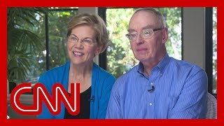 Elizabeth Warren's husband speaks