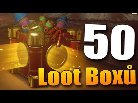 OSLAVA NOVÉHO ROKU S NOVÝMI LUXUSNÍMI SKINY!! - Overwatch 50 LOOT BOX Year of the Dog Opening!