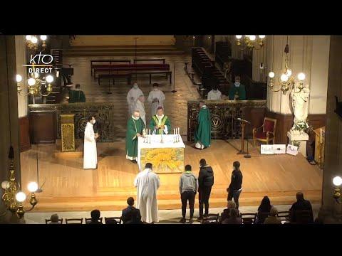 Messe du 4 octobre 2020 à Saint-Germain-l'Auxerrois