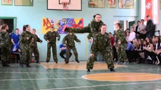 "Танец девушек ""А ну-ка,парни!""(Агутин) 11 класс"