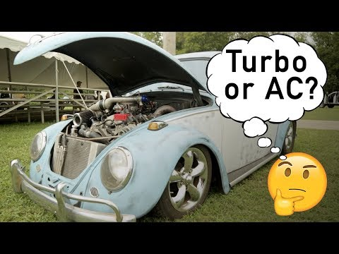 Turbo or AC? - Mark Siders' LS Powered 1963 Volkswagen Beetle - Holley LS Fest