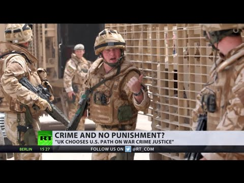 Crime & No Punishment? | British WAR CRIME allegations dropped due to 'lack of evidence'