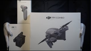 DJI FPV Drone Combo Ultimate Pack Unboxing - *The Masked Man*
