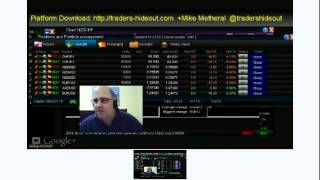 Live FOREX Trading Session With Analysis, Tips And Tricks 2012-06-05 19:00GMT