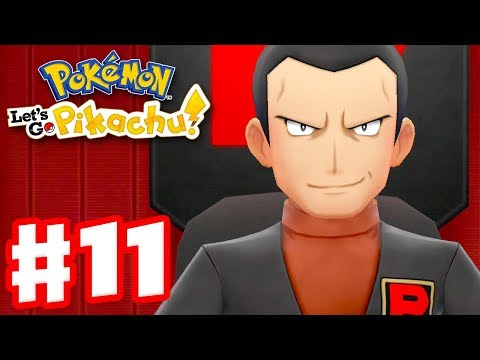 Pokemon Let's Go Pikachu and Eevee – Gameplay Walkthrough Part 11 – Team Rocket Hideout!