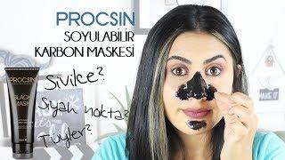 PROCSIN Soyulabilir Karbon Maskesi - Black Mask | 1 Ürün 5 Dakika