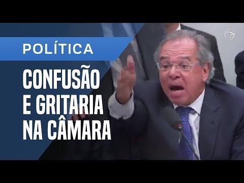 O deputado Zeca Dirceu (PT-PR) chama o Ministro Paulo Guedes de Tchutchuca