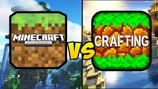 """""""MINECRAFT POCKET EDITION VS CRAFTING AND BUILDING"""" (MCPE, Craft, Build, Mobile Games, iOS, Android)"""