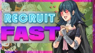 The Fastest Method for Recruiting Outside Your House! - A Fire Emblem Three Houses Guide