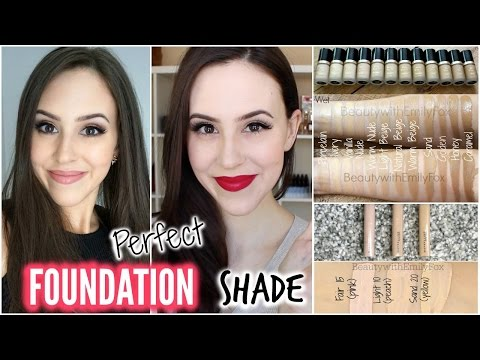 How To Choose The Right Foundation Shade - Beginner/Easy Steps