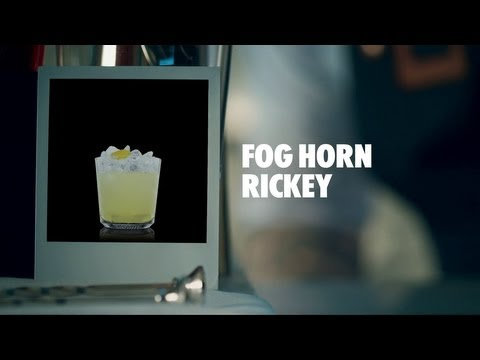 FOG HORN RICKEY DRINK RECIPE – HOW TO MIX