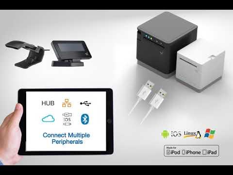 Star mC-Print3 80mm POS Thermal Receipt Printer video thumbnail