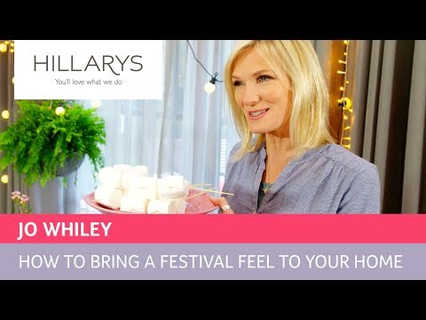 Bring a festival feel into your home YouTube video thumbnail