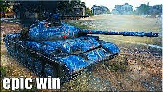 Объект 140 как играют СТАТИСТЫ на ЕВРОСЕРВЕРЕ World of Tanks