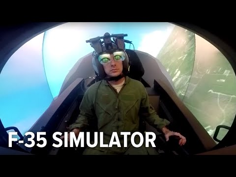 The US Air Force's F-35 Simulator is Awesome