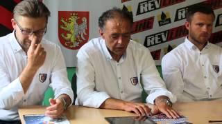 Konferencja prasowa przed nowym sezonem 2015/16 Karpaty Krosno