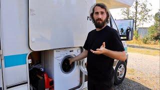 Waschmaschine im Wohnmobil | Unsere Erfahrungen mit der Candy 1142