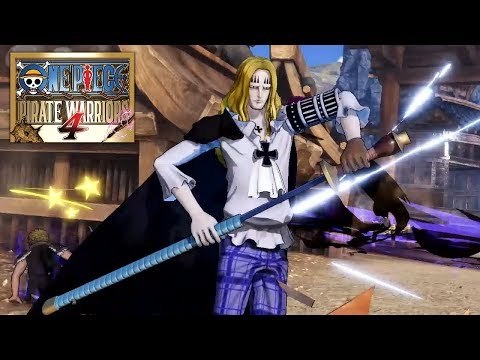 One Piece: Pirate Warriors 4 : Character Introduction: Basil Hawkins