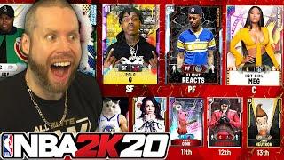 My final NBA 2K20 Custom Draft EVER!
