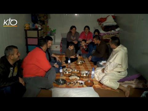 Un repas avec les réfugiés à Erbil