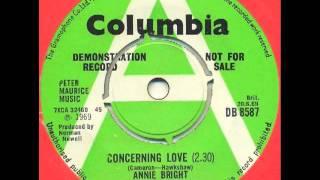 Annie Bright - Concerning love (UK mod soul beat)
