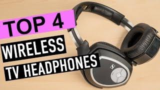 BEST 4: Wireless Headphones for TV 2019