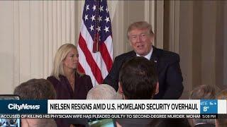 U.S. Secretary of Homeland Security resigns
