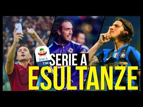 Le Esultanze più famose e belle della Serie A - Primo Episodio