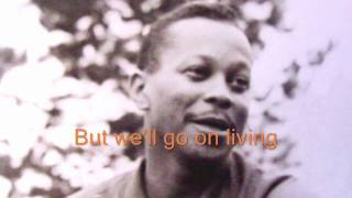 Tony Williams of The Platters solo  ''Goodbye'' with lyrics