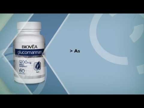 Supporto per la perdita di peso e per la regolarità: glucomannano