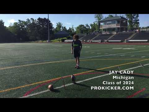 Jay Cady, Kicker/Punter, Class of 2024, Michigan