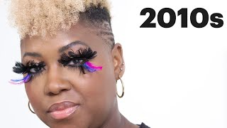 100 Years Of Fake Eyelashes | Allure