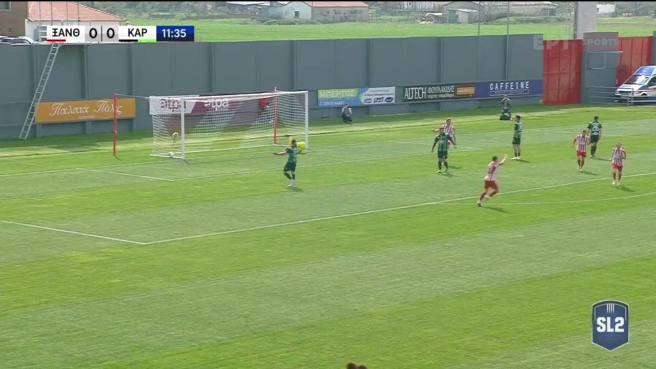 Super League 2 | Με γκολ από κόντρα του Ντίνα 1-0 η Ξάνθη | 03/04/21 | ΕΡΤ