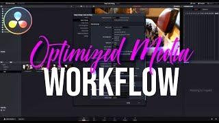 Edit 4K Videos FASTER on a SLOW Computer| Optimized Media | Davinci Resolve