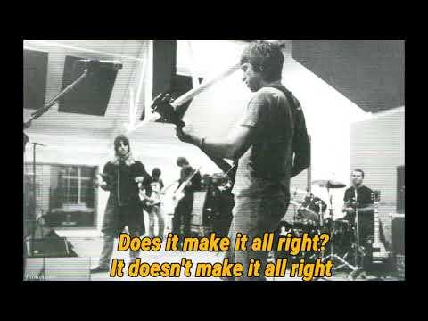 Oasis - Roll It Over (Lyrics)