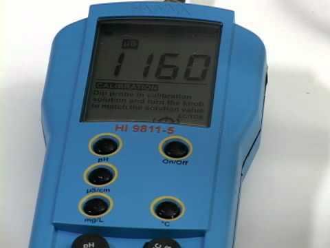 Video instructivo HI 9811-5