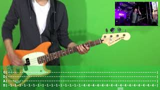 Fall Out Boy The Last Of The Real Ones  Bass Cover with TAB