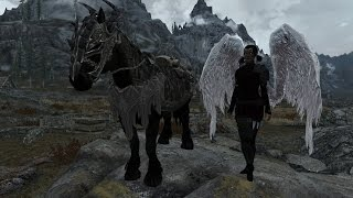 Skyrims Must Have Mods: Week 41: Angels, Wenches, Horses Oh My!