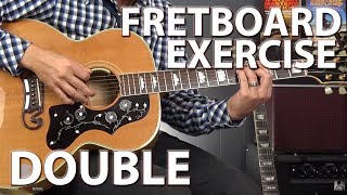 DOUBLE Your Fretboard Knowledge With This ONE Exercise