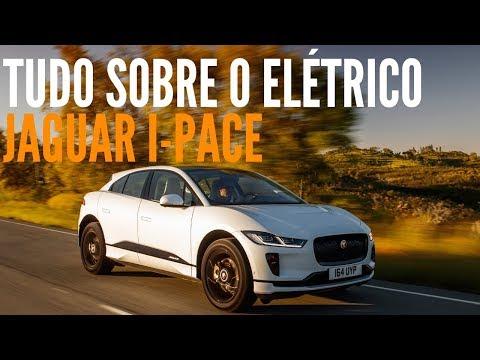 🚙 Tudo sobre o suv elétrico JAGUAR I-PACE no Brasil - BlogAuto