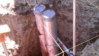 Pvc under ground