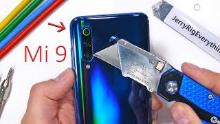Xiaomi Mi 9 Durability Test - Is the Camera Lens Sapphire?