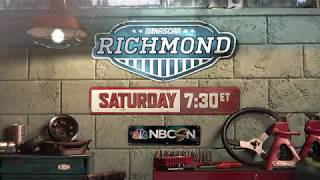 NASCAR – Richmond Raceway - 9/9 at 7:30 pm ET on NBCSN