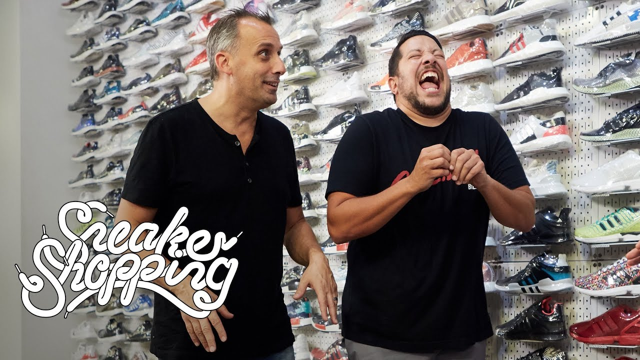 7e1b8d25102c Impractical Jokers Go Sneaker Shopping With Complex - Complex