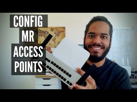 Cisco Meraki MR Access Points - Basic Setup (Connect and ...