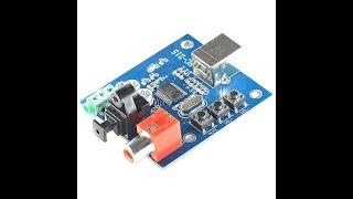 Транспорт на PCM 2704 (USB-Coaxial/Optical)